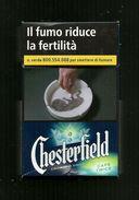 Tabacco Pacchetto Di Sigarette Italia - Chesterfield Caps Twice Da 20 Pezzi N. 2 - Tobacco-Tabac-Tabak-Tabaco - Porta Sigarette (vuoti)
