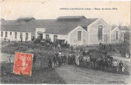 GENSAC-la-PALLUE --Dépot Du Génie (1914 ) - France
