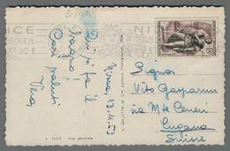 C2868 FRANCE Postal History 1955 HERNANI DE VICTOR HUGO 18f NICE (m) - France