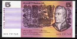 AUSTRALIA 1974. 5 DOLLAR. JAMES COOK AL DORSO CAROLINE CHISHOLM. NUEVO SIN CIRCULAR   B1157 - Decimal Government Issues 1966-...