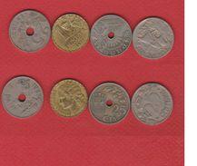Espagne / Lot De 4 Monnaies - Spain