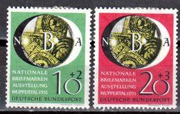 Bund 1951 Mi. 141-142 * Briefmarkenausstellung (NBA) Falz (pü2738) - BRD