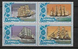 Serie De Penrhyn Nº Yvert 175/78 Nuevo - Penrhyn