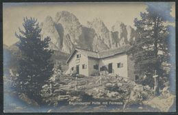 Ansichtskarte   Regensburger-Hütte Mit  Fermeda - Italien