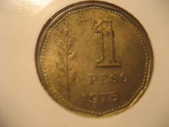 Un Peso 1975 ARGENTINA Coin - Argentina