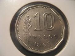10 Pesos 1963 ARGENTINA Coin - Argentina