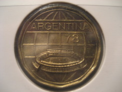 100 Pesos 1977 Football World Championship 1978 ARGENTINA Coin - Argentina