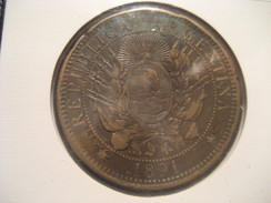 Dos Centavos 1891 ARGENTINA Coin - Argentina