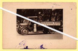 Carte Postale Camion Avec Publicité : Générogaz Gohin, Rosières En Santerre, Somme. - Rosieres En Santerre