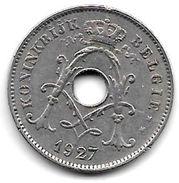 Belguim 10 Centimes 1927 Dutch   Vf+ - 1909-1934: Albert I