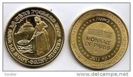 @+ Médaille Monnaie De Paris - Mont Saint Michel - Mère Poulard (2) - 2012 - Monnaie De Paris