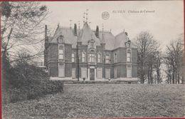 Ruien Ruyen Chateau De Calmont Kasteel Van Calmont Kluisberg Kluisbergen 1921 (In Zeer Goede Staat) - Kluisbergen