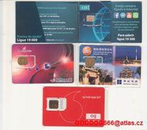 Unused , SIM Public , RARE , Iceland,Maldives,Macau,SAO TOMÉ +Principe - Phonecards