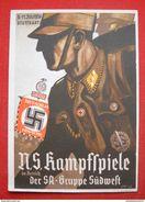 """AK """"NS-Kampfspiele Der SA Zu Stuttgart 1937"""", Ungebraucht - Deutschland"""