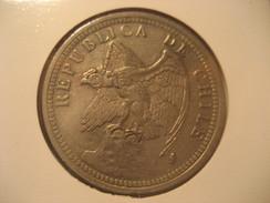 1 Peso 1933 Condor CHILE Coin - Chili