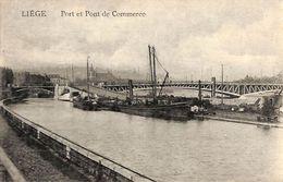 Liège - Port Et  Pont De Commerce (animée, Feldpost 1916) - Liege