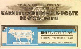 FRANCE - BOOKLET/CARNET - 1930 Cérès 215, Yvert 283-c64, 20x50c Red - Usage Courant