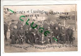 LES ENFANTS DE L' AUVERGNE Au Camp De Sainte Marthe à Marseille - Barracks