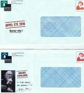 FONDATION ABBE PIERRE - Simili-timbre - Lot De 4 Différents - Enteros Postales