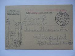 AUSTRIA - 1916 Feldpostkarte - K.u.K. Komb. Feldjagerbataillon Schenk - Feldpostamt 603 - Covers & Documents