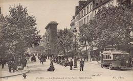 PARIS 9EME : Le Boulevard Et La Porte Saint Denis - Arrondissement: 09