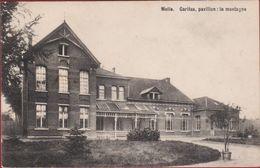 Melle Caritas Pavillon La Montagne ZELDZAAM 1910 (in Zeer Goede Staat) - Melle