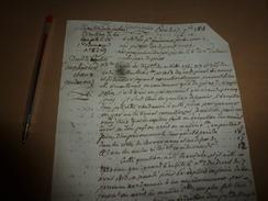 1819 LETTRE Par Le Ministre De La Justice :Sur DROIT De CAPTURE Aux HUISSIERS Et GENDARMES ,suite Légèreté Des ,etc - Manuscrits