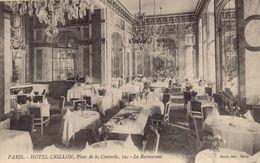 PARIS 8EME : Hotel De CRILLON - Distrito: 08