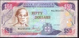 Jamaica 50 Dollars 2007 UNC P-83b - Jamaica