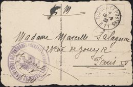 Sur CPA Lvow Lemberg Mission Militaire Française En Pologne CAD Trésor Poste 311 Révolution Bolchévique 1920 - 1919-1939 Republic