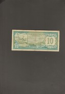 10 Gulden - Netherlands Antilles (...-1986)