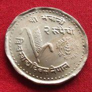 Nepal 2 Rupee 1981 FAO F.a.o. - Nepal