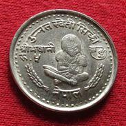Nepal 5 Rupee 1980 FAO F.a.o. - Nepal