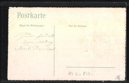 Präge-AK Kempten, Absolvia 1908, Studentenwappen - Unclassified