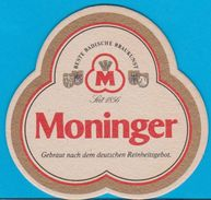 Hatz-Moninger Brauhaus Karlsruhe ( Bd 411 ) - Sous-bocks