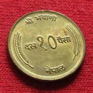 Nepal 10 Paisa 1973 UNCºº - Nepal