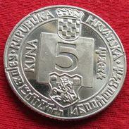Croatia 5 Kuna 1994 500 Years Croatie Croacia Croazia Wºº - Croatia
