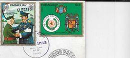 LUFTHANSA PRIMER VUELO CON DC-10 ASUNCION PARAGUAY ALEMANIA FEDERAL HISTORICA  VISITA STROESSNER A ESPAÑA AÑO 1974 - Paraguay