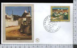 C2921 Busta FDC 1976 TURISMO VALLE D'ITRIA TRULLI Lire 150 FILAGRANO (m) - 1946-.. République