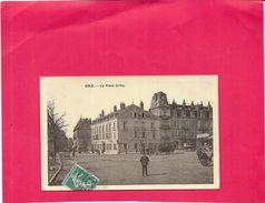 DOLE - 39 - La Place Grévy  - BORD1512 - - Dole