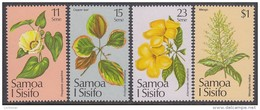 SAMOA, 1981 XMAS FLOWERS 4 MNH - Samoa