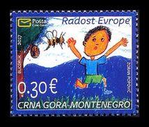 Montenegro 2017 Mih. 409 Joy Of Europe. Children's Drawings MNH ** - Montenegro