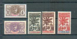 Haut Sen 21 - YT 3-6-7-9-11 * - Haut-Senegal-Niger (1904-1921)