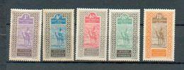 Haut Sen 23 - YT 18-20-28-30-31 * - Haut-Senegal-Niger (1904-1921)