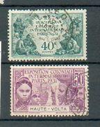 Hte Volta 96 - YT 66 Et 67 ° Obli - Obervolta (1920-1932)