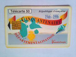 Guadalupe 50 Units - Schede Telefoniche