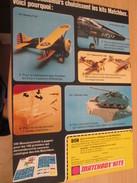 Page De Revue Des Années 70/80 : MAQUETTE PLASTIQUE MATCHBOX AVIONS CHARS , Format  Page A4 - Airplanes