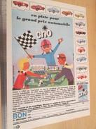 Page De Revue Des Années 60 : PUBLICITE LESSIVE CRIO  PLAQUETTES METAL VOITURES MINIATURES , Format  Page A4 - Collectors & Unusuals - All Brands