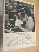 Page De Revue Des Années 60/70 : PUBLICITE MAQUETTES HELLER MIRAGE IV , Format Page A4 - Airplanes