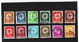 XAX979 DEUTSCHES REICH  1931/32 MICHL 132/43  DIENST Used /gestempelt Siehe ABBILDUNG - Deutschland